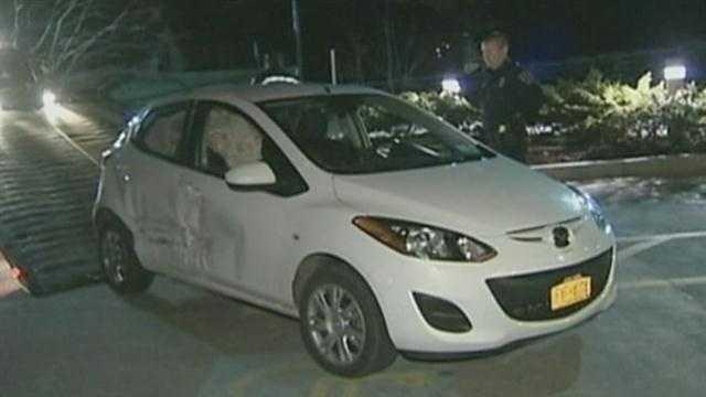 Wild police chase ends at hospital ER