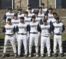 Chaloux is seen second to right in the third row on the Pingree baseball team.