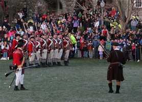 The leader of the Lexington militia was was Captain John Parker.