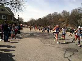 Runners go through Wellesley