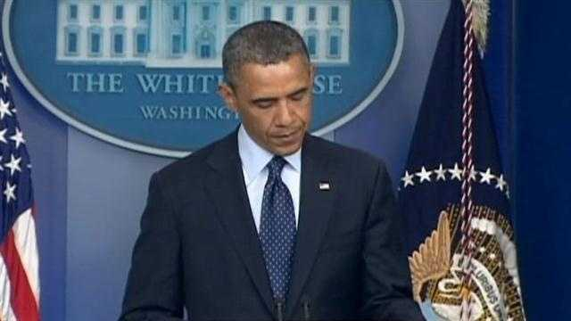 President reacts to Marathon bombings