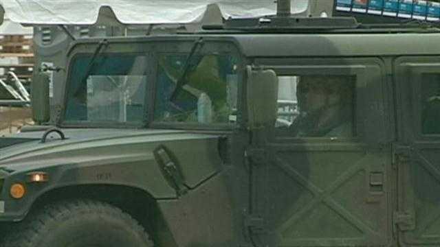Humvee in Boston