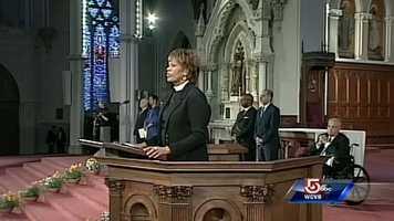 The Opening Prayer was delivered by Rev. Liz Walker, of the Roxbury Presbyterian Church.