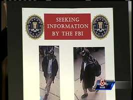 The photos of the two suspects were revealed Thursday.