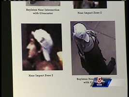 Suspect 2 left the bombing scene heading west on Boylston St., FBI said.