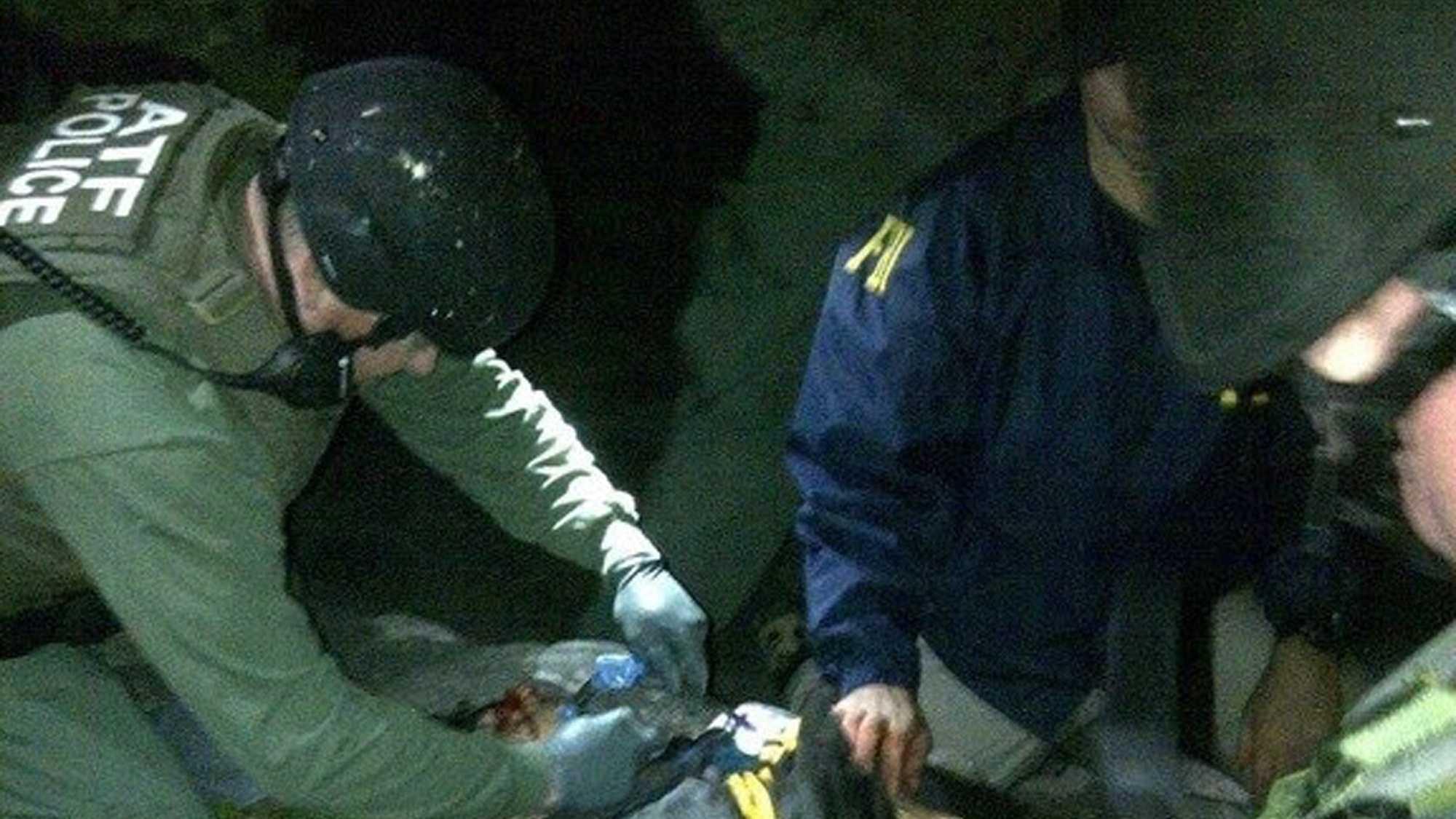 Dzhokhar Tsarnaev Actual Arrest