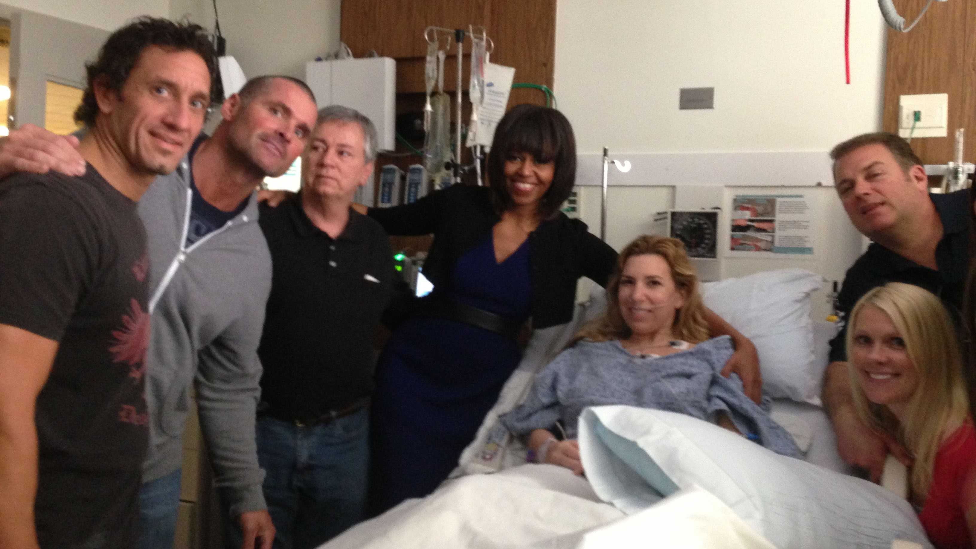 Heather Abbott in Hospital