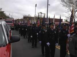 Wellesley police prepare to honor Sean Collier.