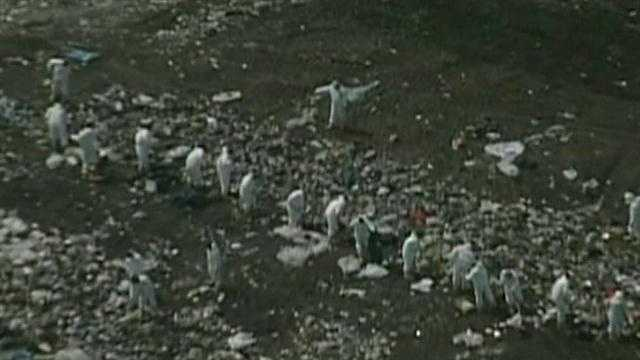 Suspect's computer, other items focus of landfill search