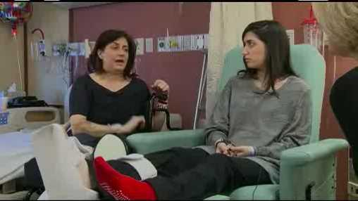 Mother-daughter bomb victims recover in same hospital room