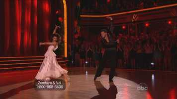 Zendaya: The Disney star performed a dramatic paso doble, and while judges said she was an outstanding dancer, they noticed small flaws.