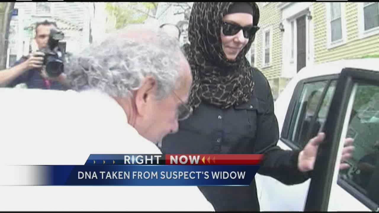 FBI  focuses on bombing suspect's widow