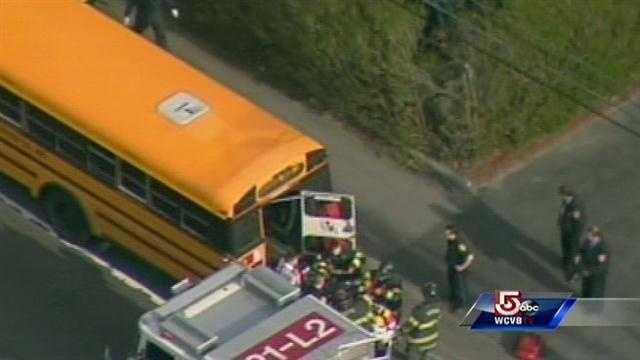 Newton bus incident