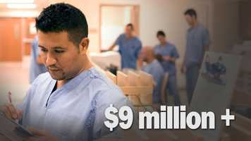 Total cost of care for 70 hospitalized victims: Could exceed $9 million