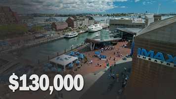 Lost receipts for New England Aquarium: $130,000