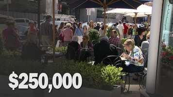 Cost to Whiskeys' Smokehouse, 885 Boylston Street: $250,000