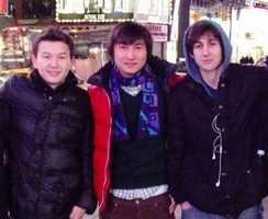Azamat Tazhayakov and Dias Kadyrbayev are two of the people taken into custody. They are friends with bombing suspect Dzhokhar Tsarnaev, officials said.