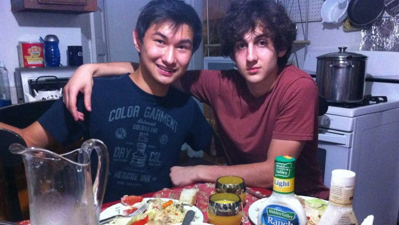 Dias Kadyrbayev with Tsarnaev