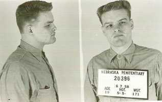 Charles Starkweather and his girlfriend, Caril Ann Fugate, were convicted of killing 11 men, women and children in a 1958 murder spree. He was executed in 1959 at the age of 20. He was buried at Wyuka Cemetery in Lincoln, Neb. Fugate was also convicted but paroled in 1976 after serving 17 years in prison.