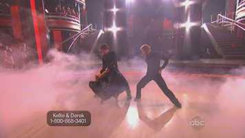 The performance incorporated quick, strobe-like lightning, and very fast paced moments that played well to the audience watching on television.