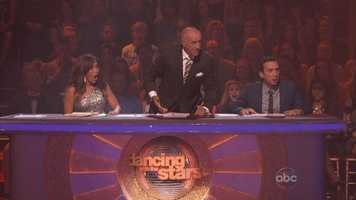 """Over the course of 16 seasons of """"DWTS,"""" Len has regularly disagreed with his co-judges, Carrie Ann Inaba and Bruno Tonioli. Where the other two tend to be effusive and emotional, Len Goodman is the staid and serious judge. It can be hard to please him."""