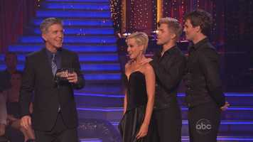Dancing with the Stars host Tom Bergeron, who is usually quick at defusing judge tension, had no such luck this time. It was a bit awkward.