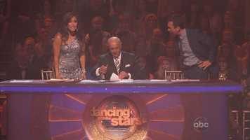 Kellie's dance received one of the most uneven scores you will ever see on 'Dancing.' Carrie Ann and Bruno both gave the paso 10s, but Len scored it a 7.