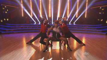 The Scores (First routine, second routine, grand total):Zendaya and Val Chmerkovskiy:28, 30:Total: 58/60Aly Raisman and Mark Ballas: 29, 27:Total: 56Kellie Pickler and Derek Hough: 28&#x3B; 27:Total: 55Jacoby Jones and Karina Smirnoff: 27, 25:Total: 52Ingo Rademacher and Kym Johnson: 24, 24:Total: 48Sean Lowe and Peta Murgatroyd:21, 21:Total: 42