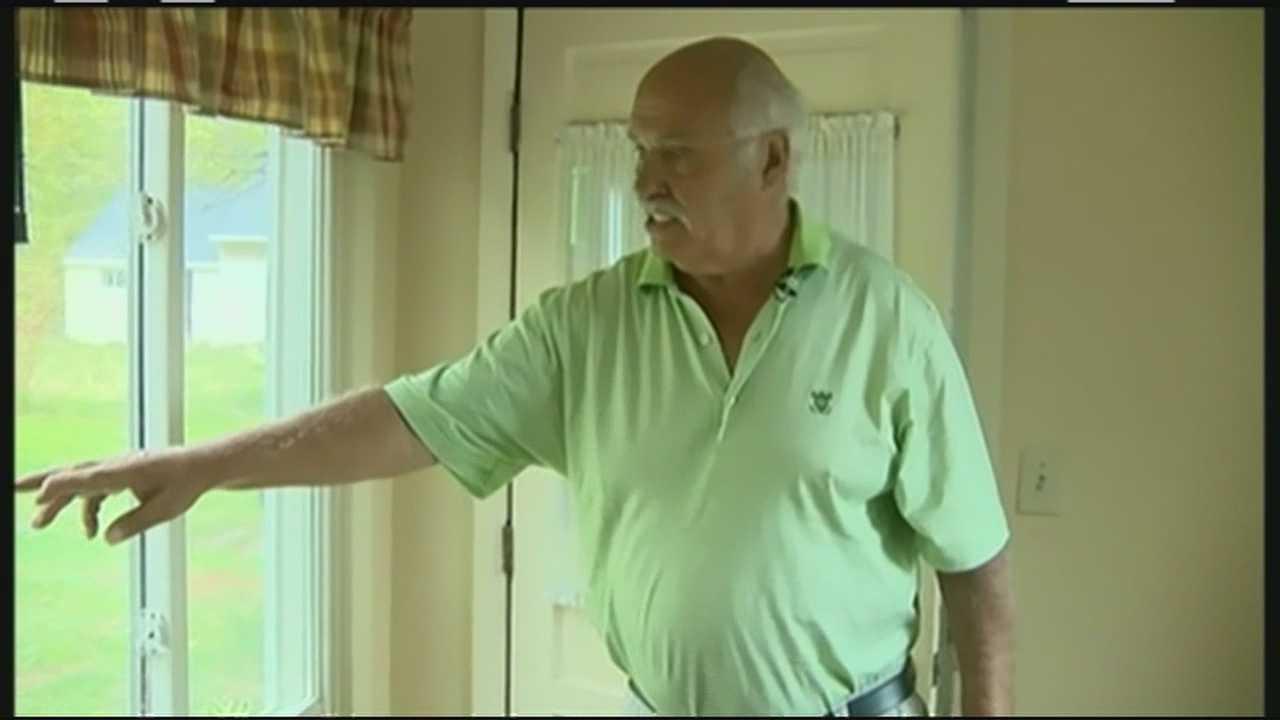Man, 70, captures, beats home invader