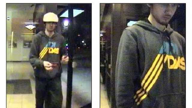 Dzhokhar Tsarnaev Leaving ATM
