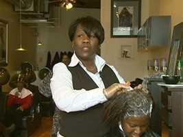 Donna Adams Chaplin owns Epiphany Hair Salon.