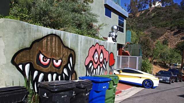 Chris Brown mural