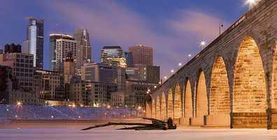 1.) Minneapolis-St.Paul-Bloomington, MN-WI