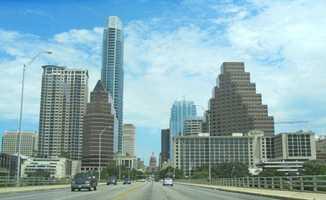 6.) Austin-Round Rock, TX