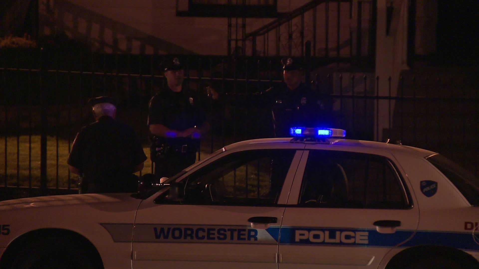 Worcester Police Funeral Home 051313.jpg