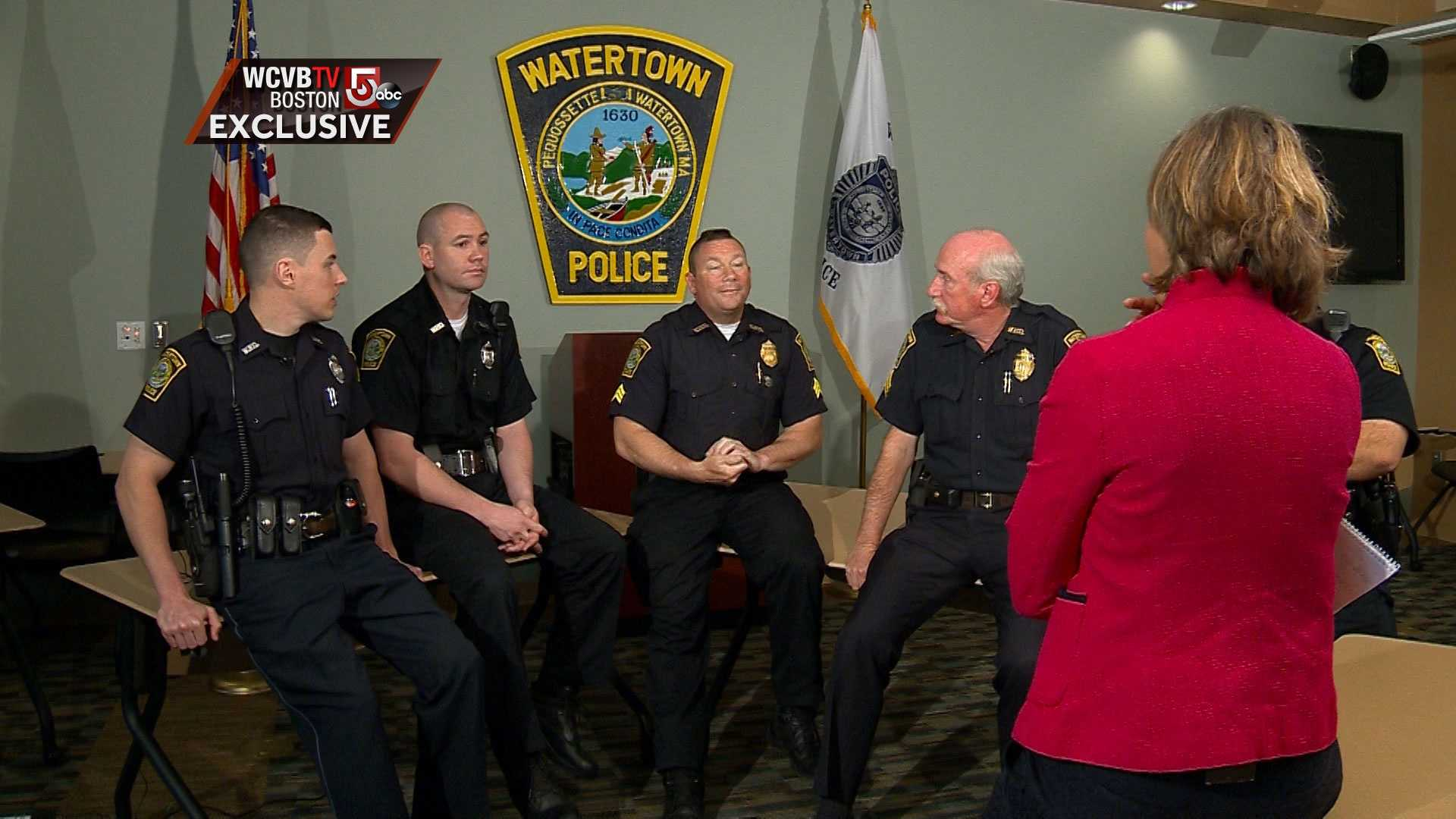 Watertown officers EXCLUSIVE bug