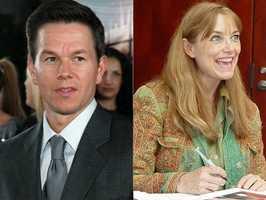 4) Mark and Karen(Pictured: Actor Mark Wahlberg, and actress Karen Allen)