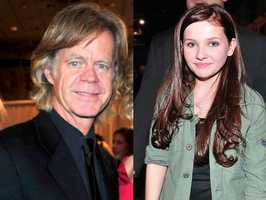 8) William and Abigail(Pictured: Actor William H. Macy, and actress Abigail Breslin)