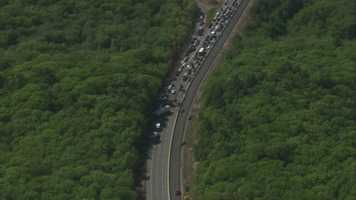 The crash happened near Route 109.