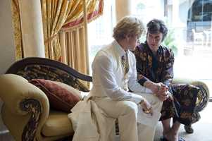 Michael Douglas plays the flamboyant Liberace, and Matt Damon his much younger live-in lover, Scott Thorson.