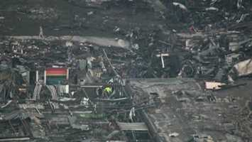 The same suburb was hit hard by a tornado in 1999. That storm had the highest winds ever recorded near the earth's surface.
