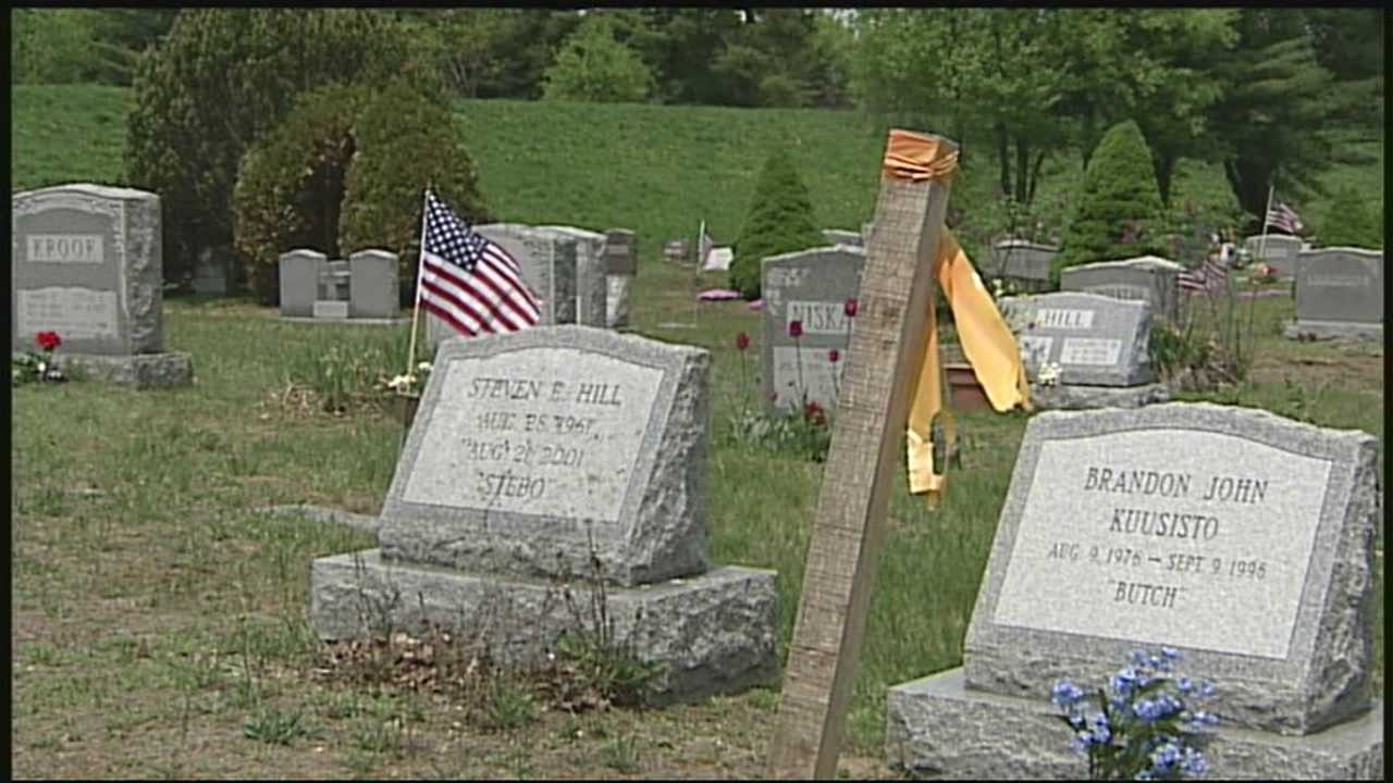 Dispute affects dozens of graves in New Ipswich
