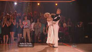 Pickler had danced the quickstep before and Inaba said she didn't see enough body contact.