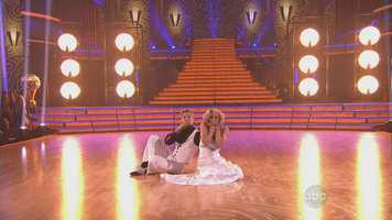 Pickler earned 30 points, a perfect score.POLL: CLICK HERE to vote who should win this season of DWTS