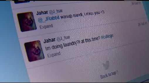 Terrorist twitter