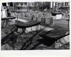 Copp's Hill Burying Ground in the North End