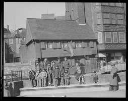 1954: Paul Revere House in the North End