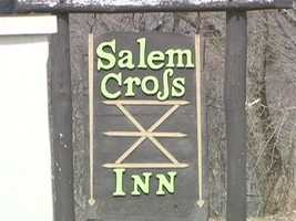 Brookfield's Salem Cross Inn is on West Main Street.