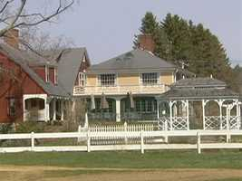 The Inn is located on a 600 acre farm.