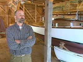 Ned Crosby is an eighth generation builder of the famous Crosby boats.